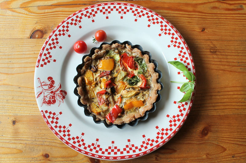 tartelette à la provencale sans gluten ni lactose