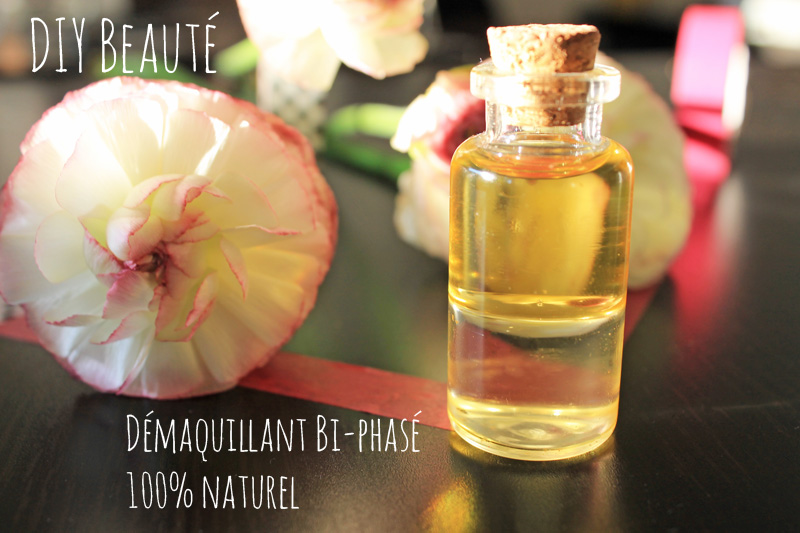 DIY Démaquillant bi-phasé naturel