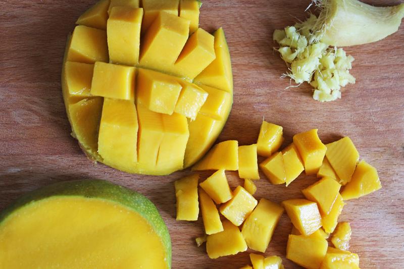 Mangue  & Gingembre