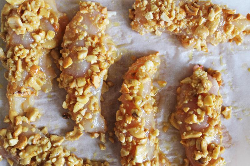 Préparation poulet pané sans gluten