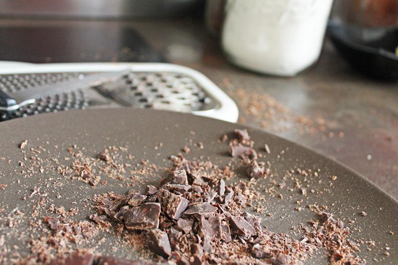 Copeaux de chocolat sans lactose
