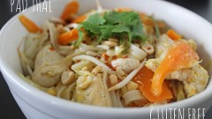 Pad thai Gluten Free