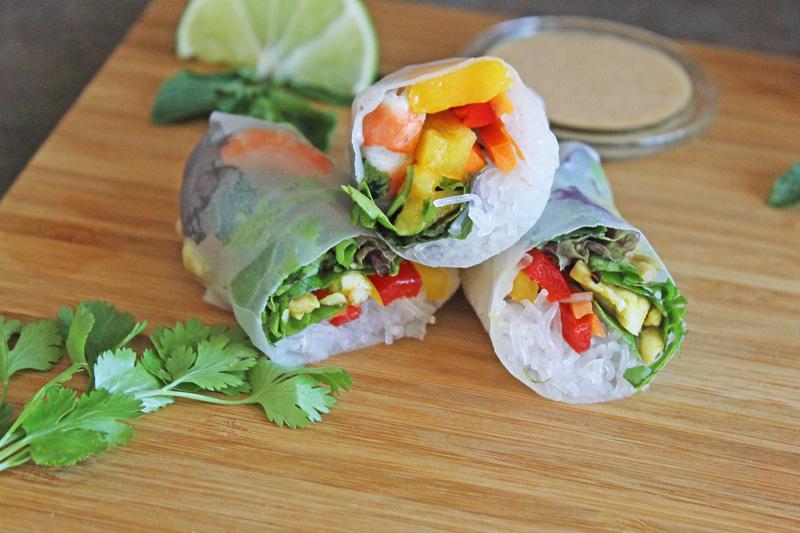 Thaï spring rolls Gluten free