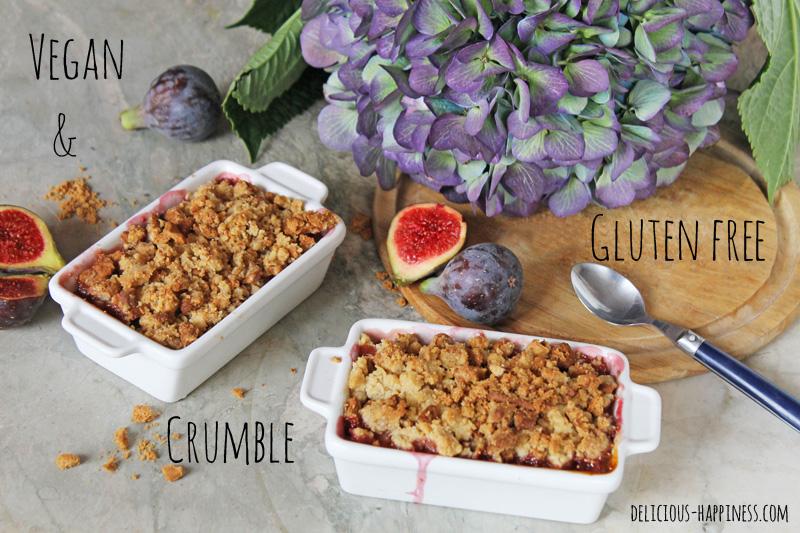 Vegan & gluten free crumble