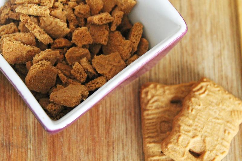 Crumble spéculos sans gluten sans lactose