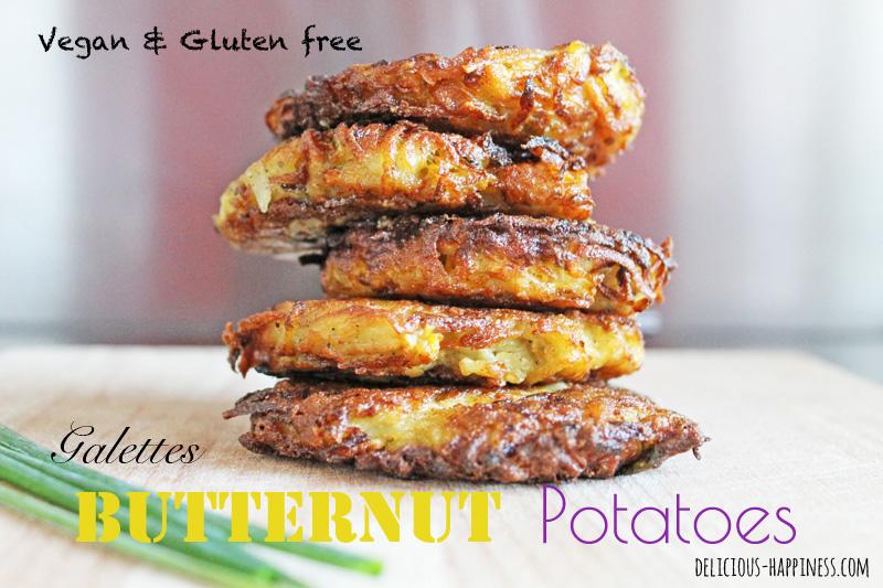 Galettes vegan & gluten free