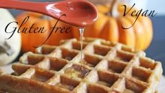 Vegan & gluten free Waffles