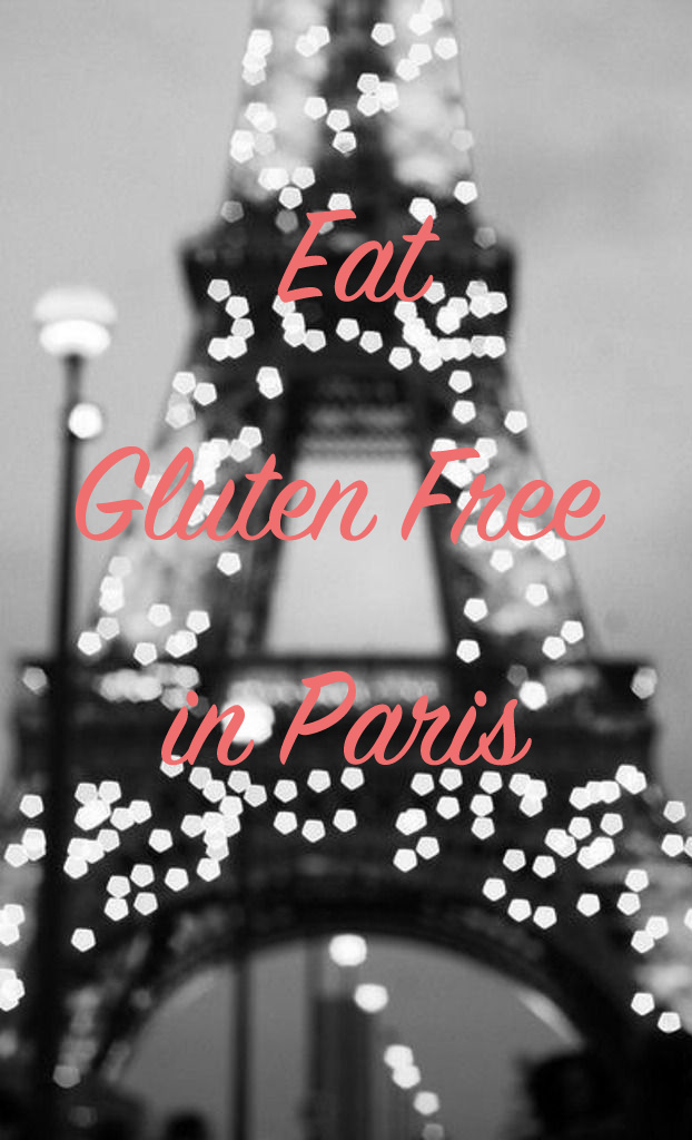 Gluten Free guide Paris