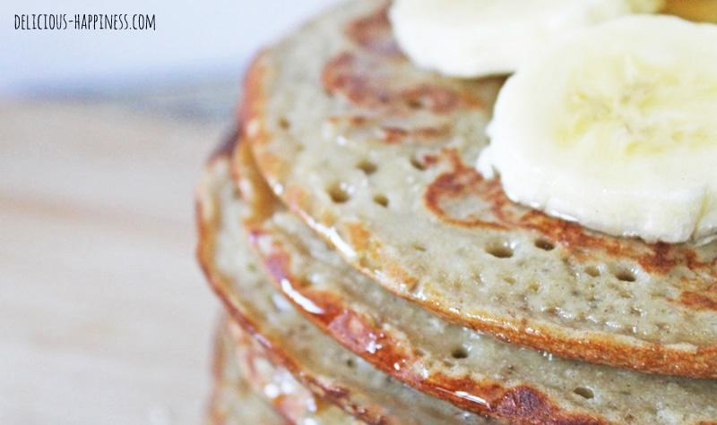 Pancakes vegan et sans gluten