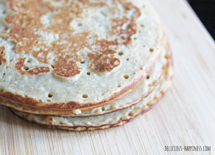 pancakes vegan sans gluten preparation