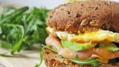 Hamburger sans gluten et sans lactose