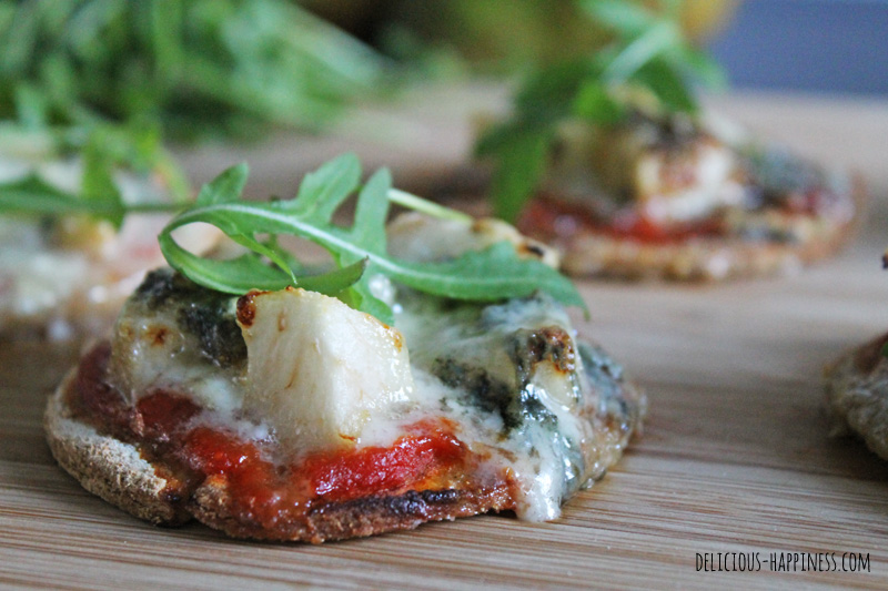 Mini pizza gluten and dairy free