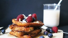 Pain perdu sans gluten ni lactose