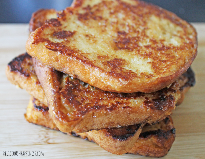 Gluten and dairy free French toasts