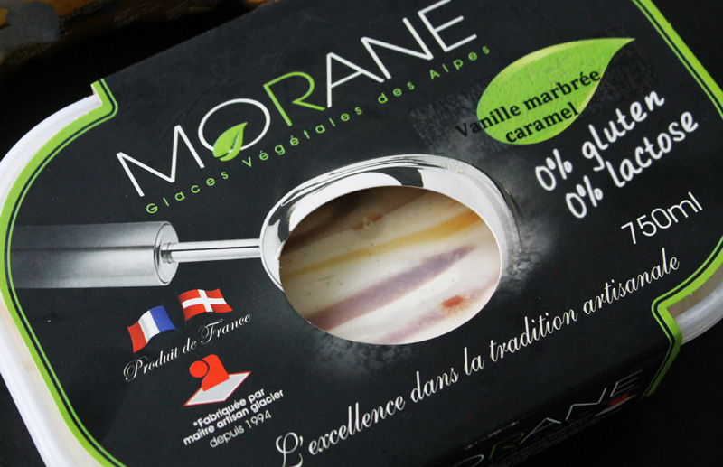Glace Morane vegan and gluten free